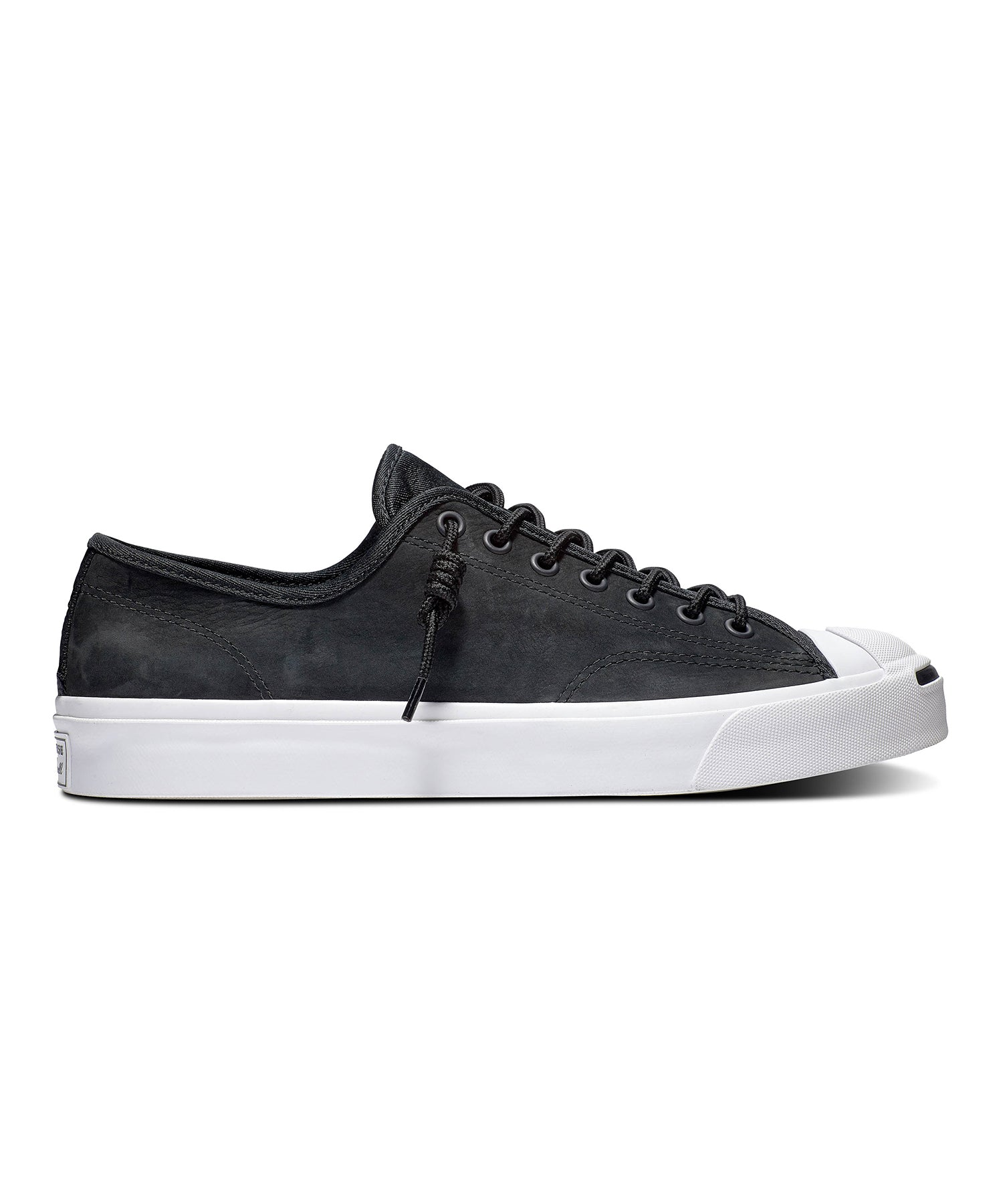 Jack Purcell Nubuck Low Top in Black