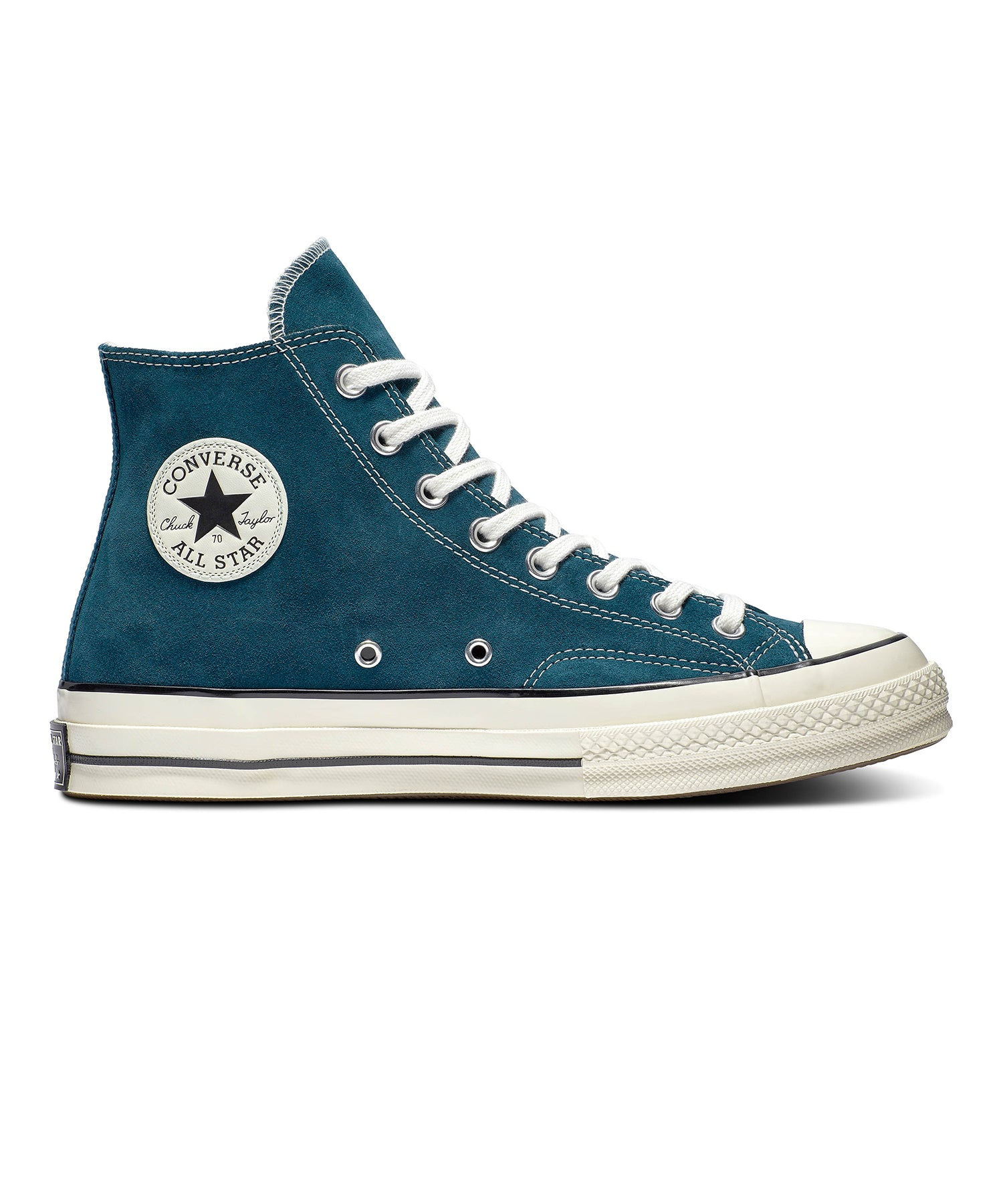 Converse Suede Chuck 70 Hi in Midnight Turquoise