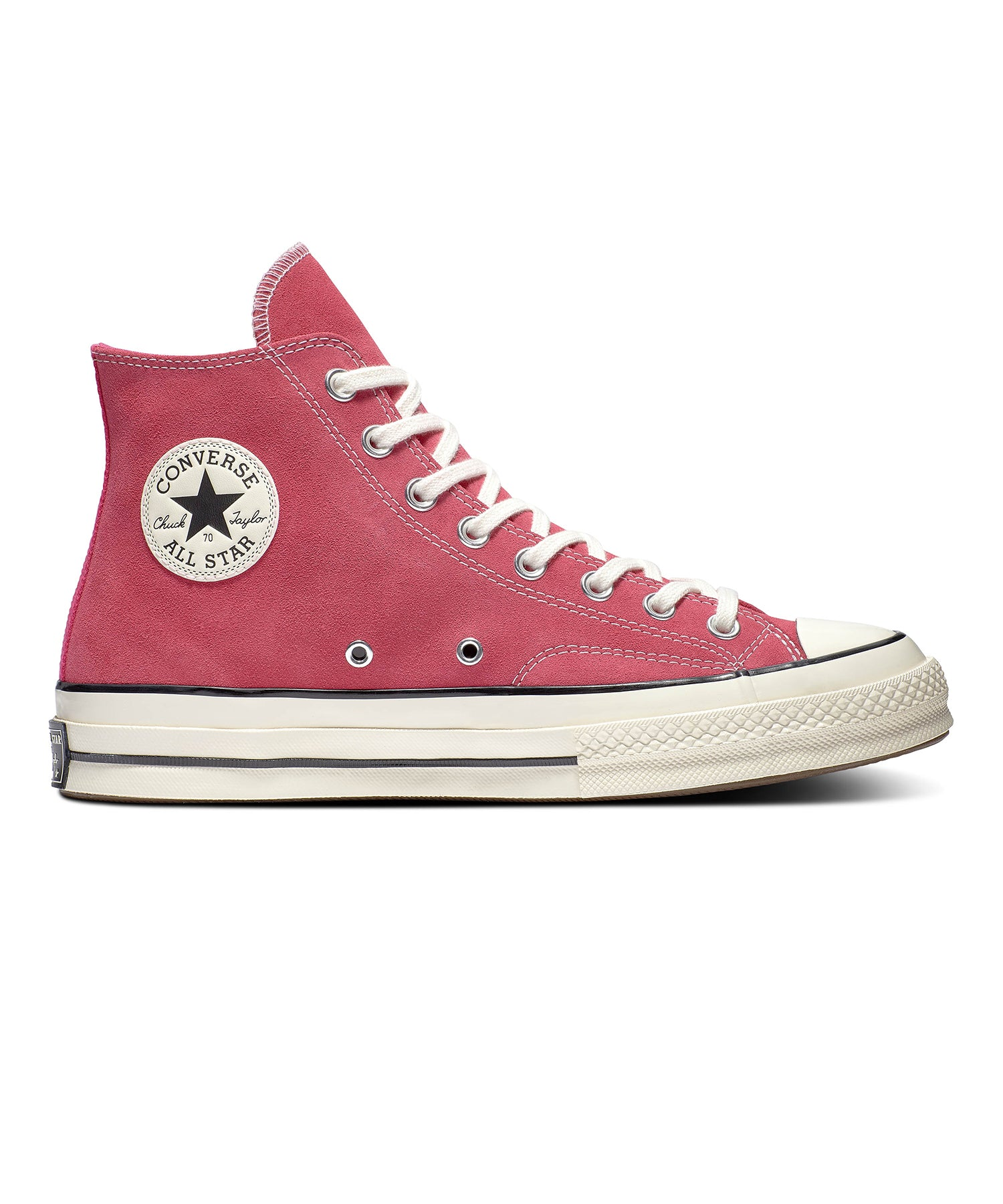 Converse Suede Chuck 70 High in Prime Pink