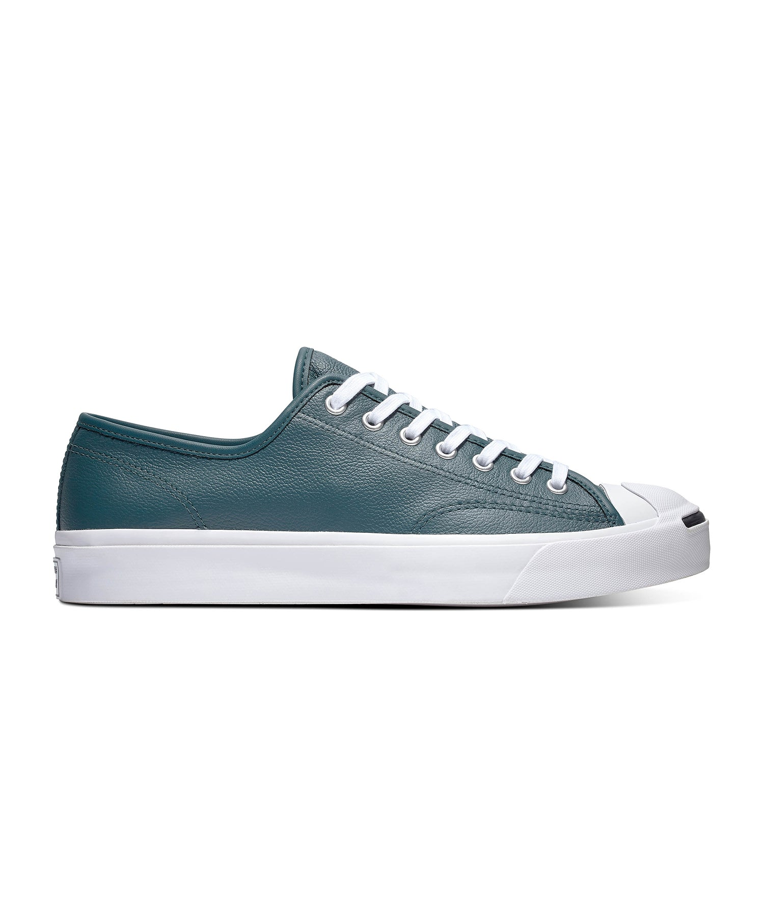 Converse Leather Jack Purcell in Faded Spruce