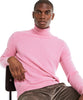 Cashmere Turtleneck in Pink Alternate Image