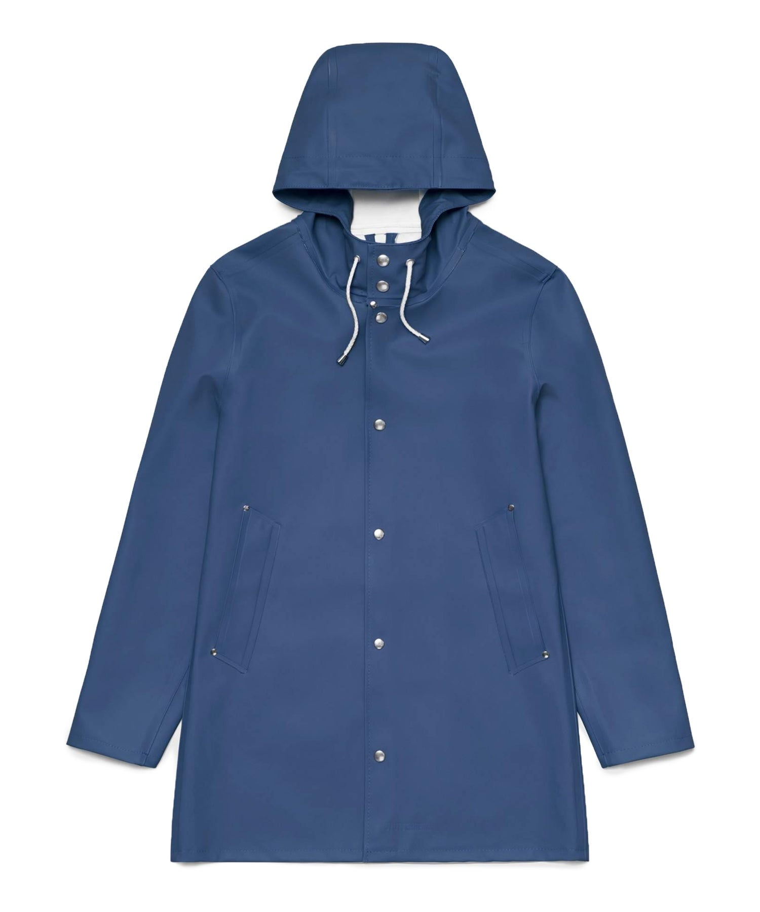 Stutterheim Stockholm Basic Raincoat Indigo