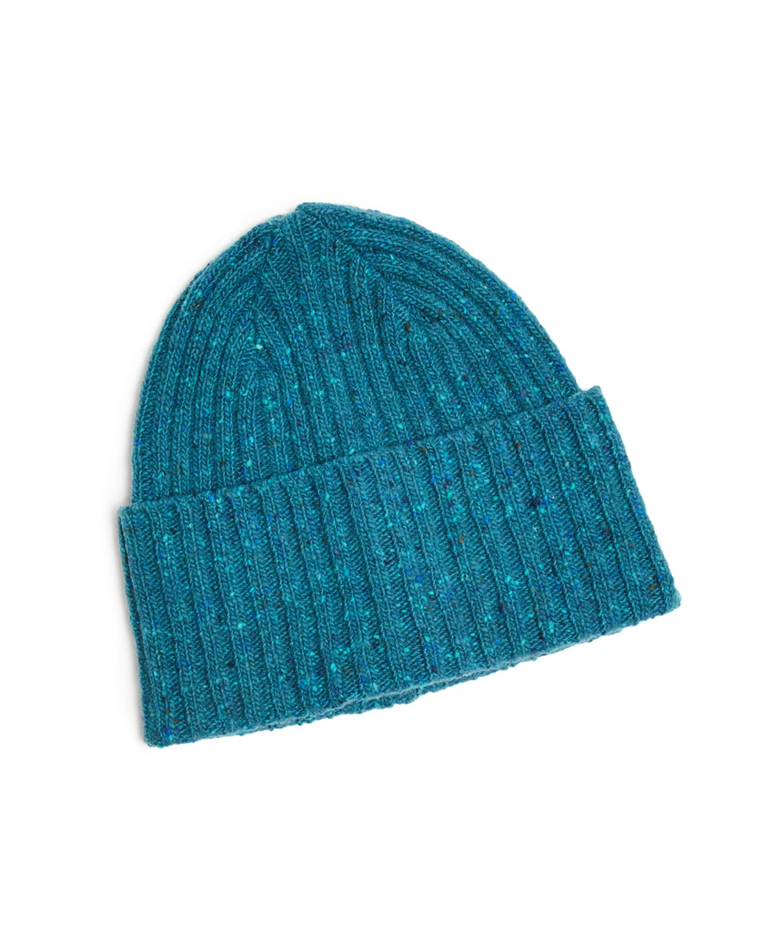 Drake s Donegal Merino Wool Hat in Turquoise 1c89ca2f611