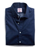 HAMILTON DECO DOT DRESS SHIRT in NAVY Alternate Image