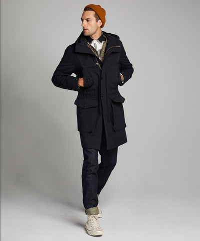 Made in New York 3-1 Parka in Navy
