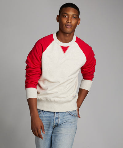 Colorblock Raglan Sweatshirt