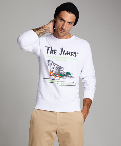 The Jones Sweatshirt in White
