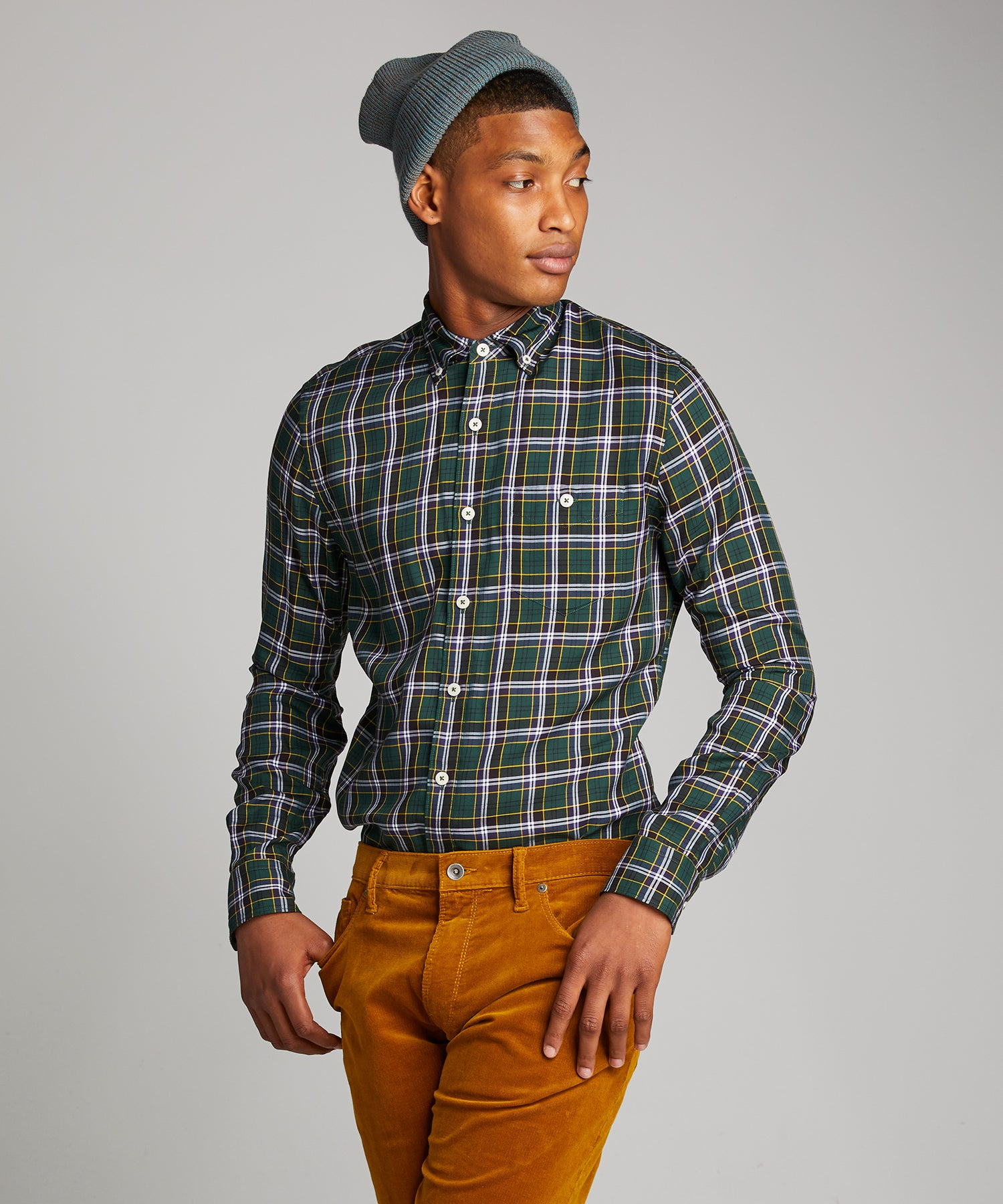 Tartan Plaid in Green