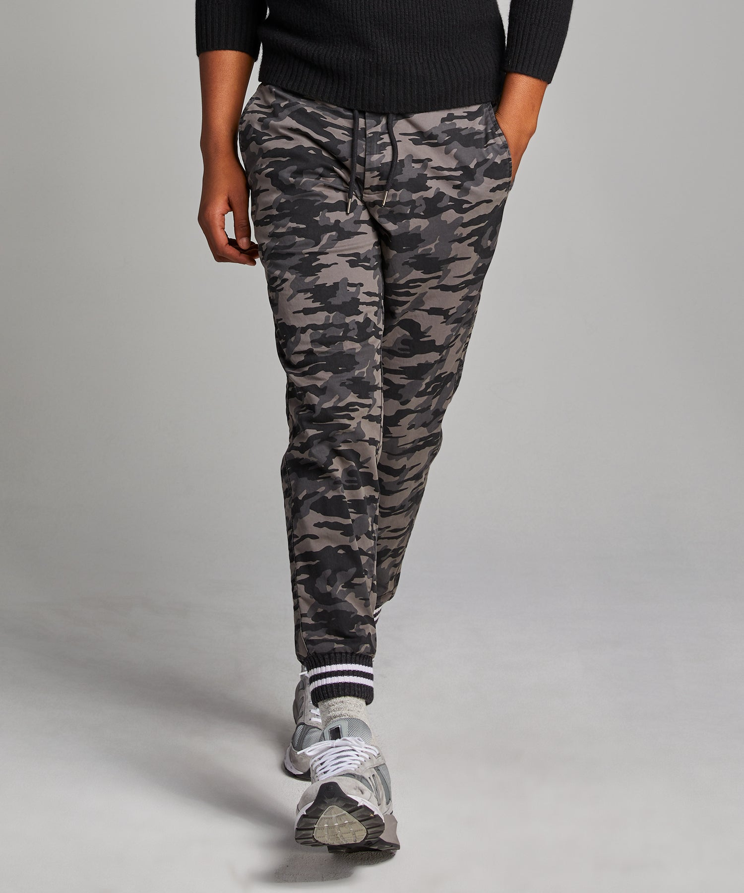 Camo Cotton Chino Jogger