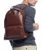 Lotuff Chestnut Leather Backpack Alternate Image