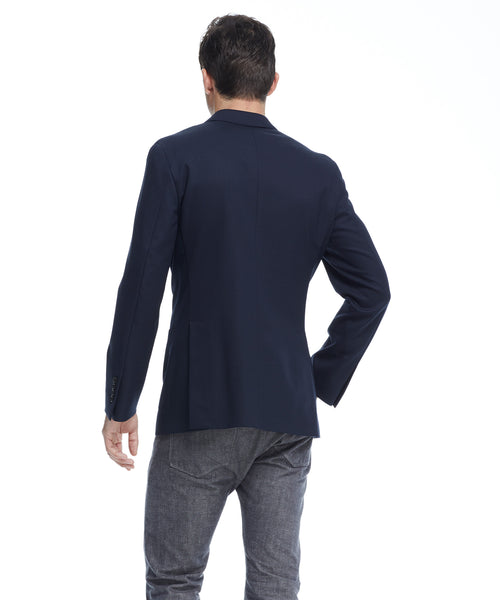 Sutton Black Label Unconstructed Sport Coat in Navy