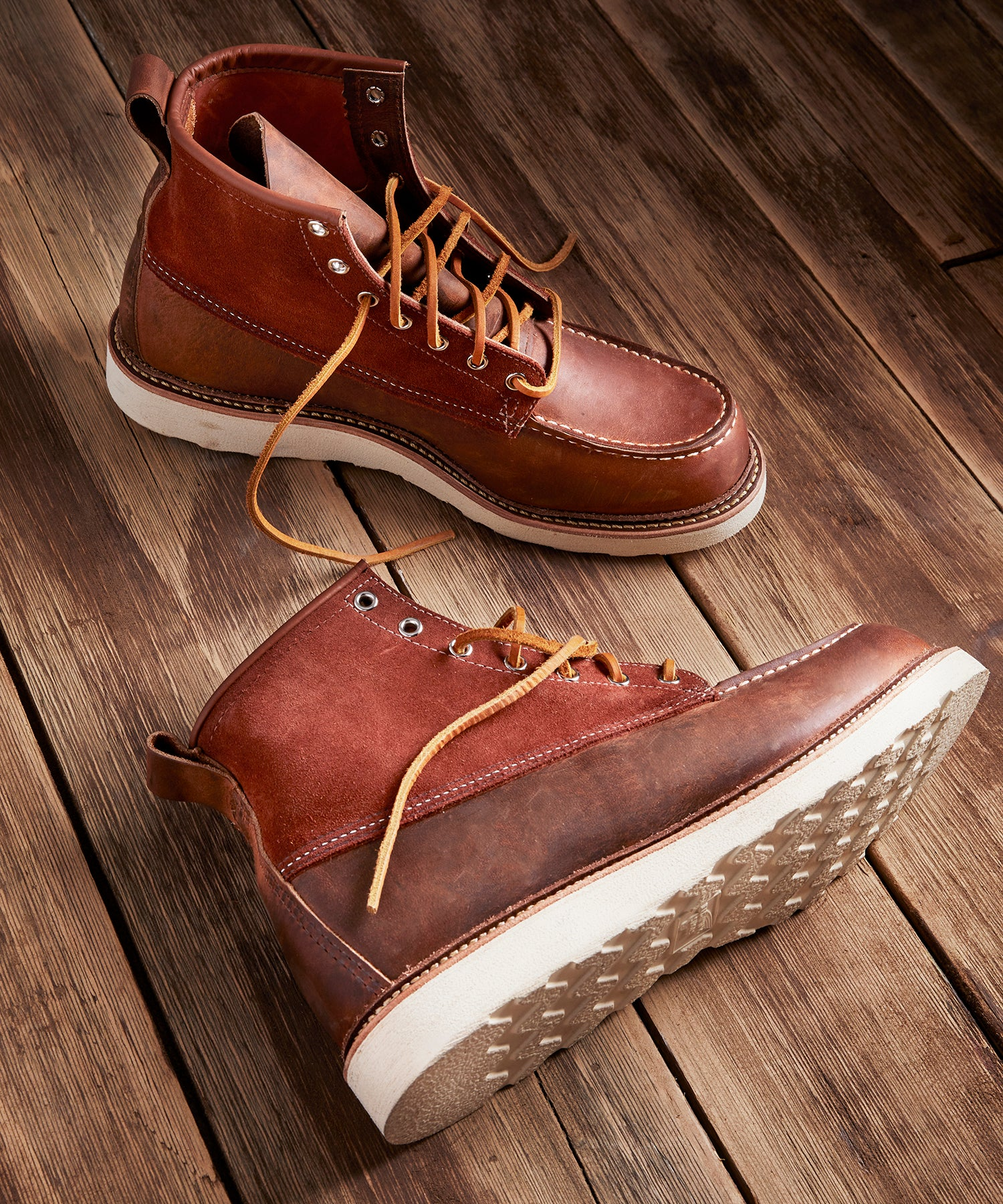 Exclusive Red Wing X Todd Snyder Moc