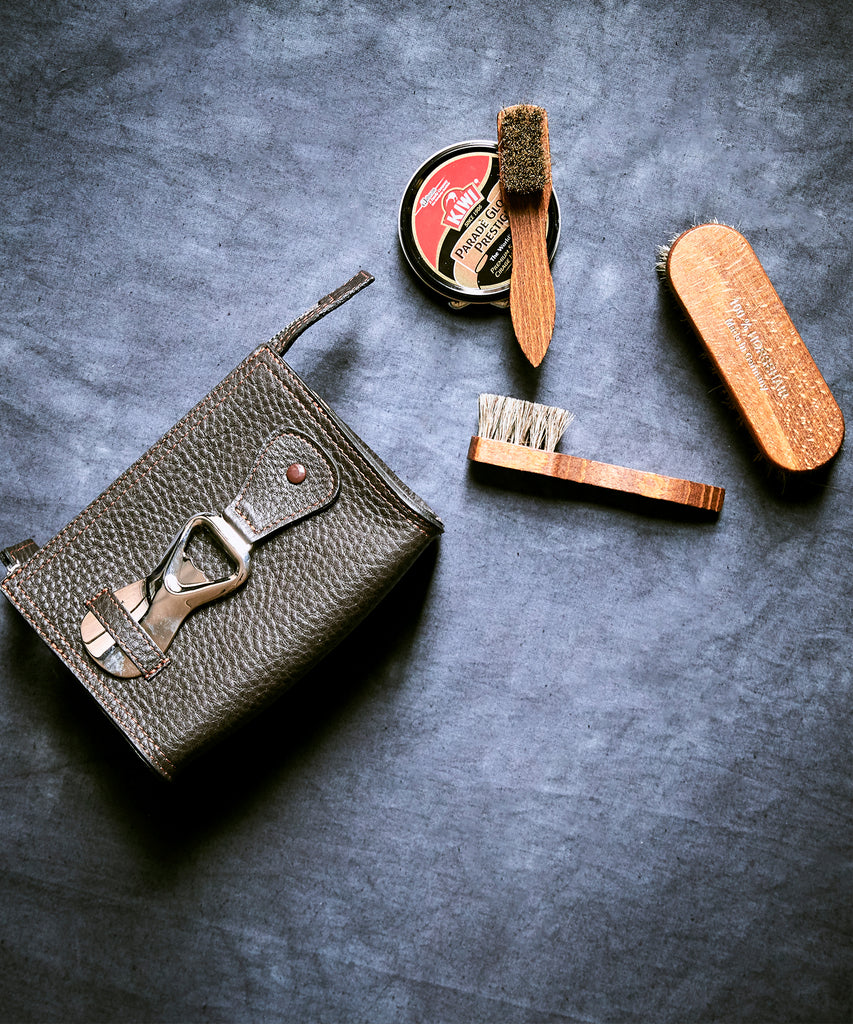 F. Hammann for Todd Snyder Shoe Shine Kit