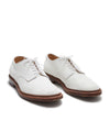 Alden + Todd Snyder Unlined Suede White Buck