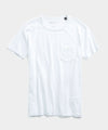 Made in L.A. Slub Jersey Pocket T-Shirt in White