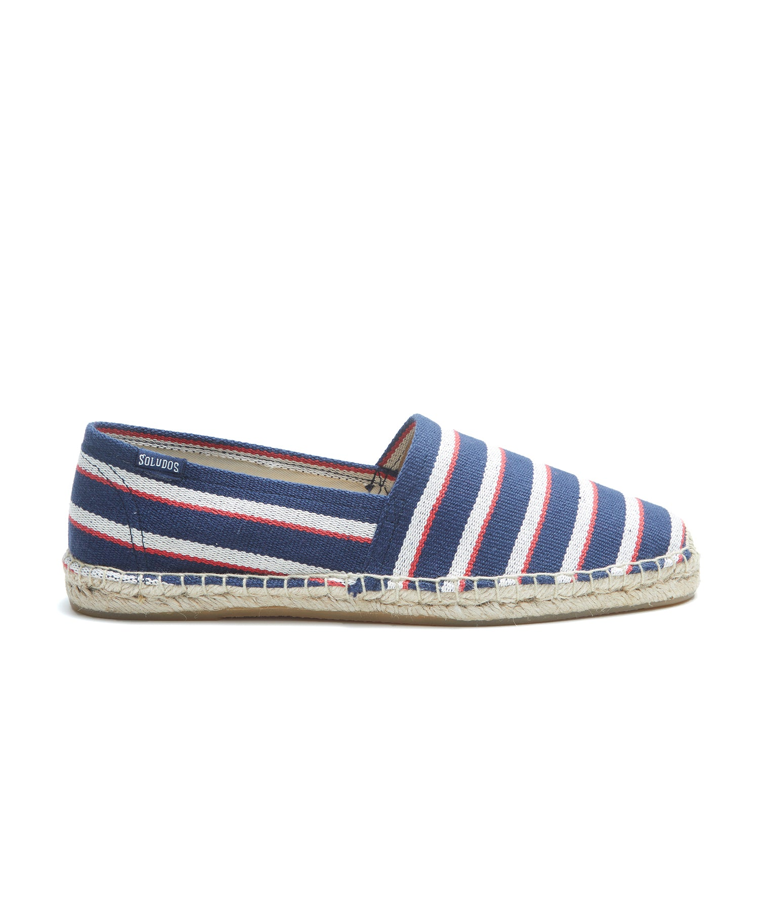 Soludos Stripe Original Dali in Navy/Natural