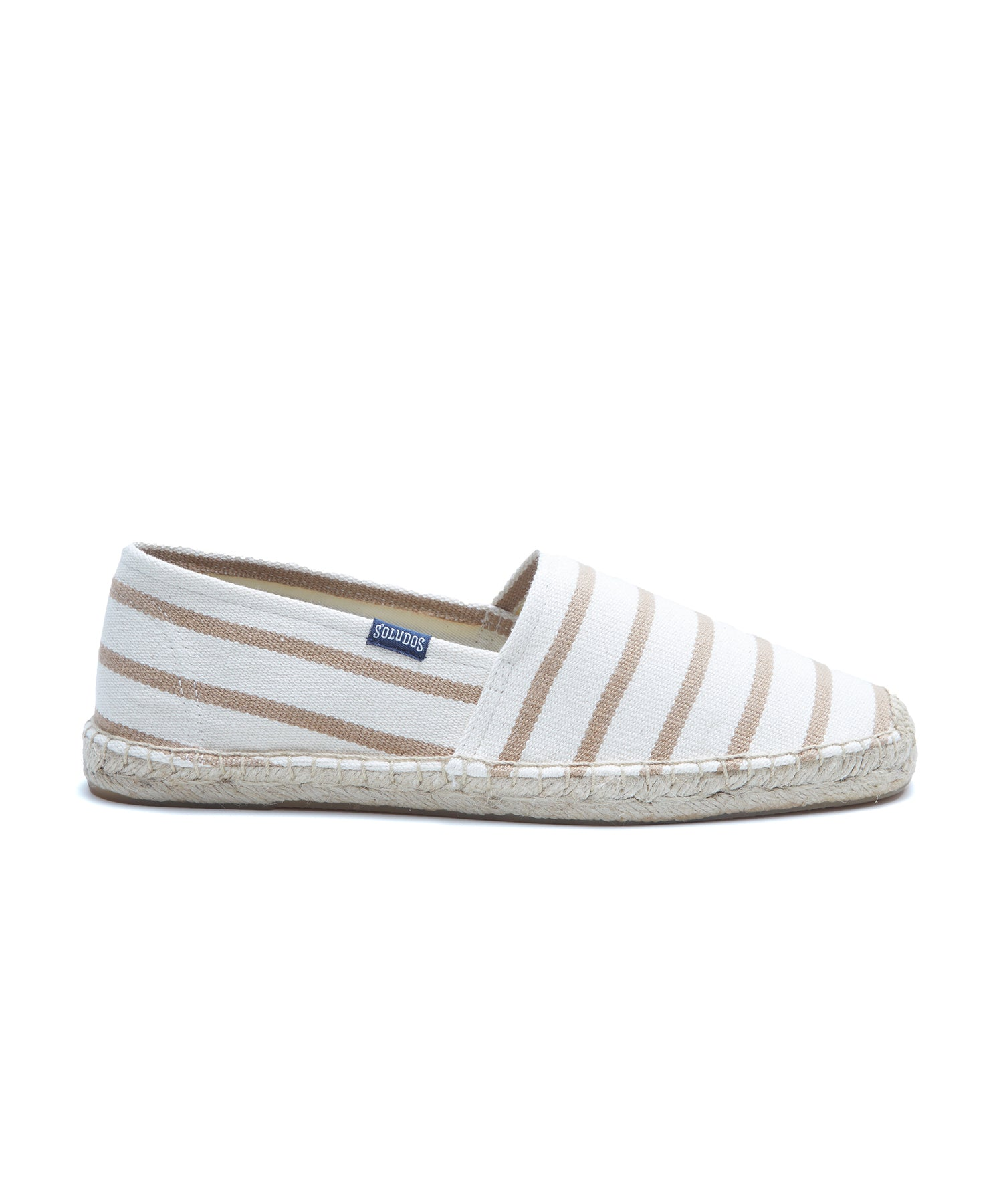 Soludos Stripe Original Dalie in Natural/Tan