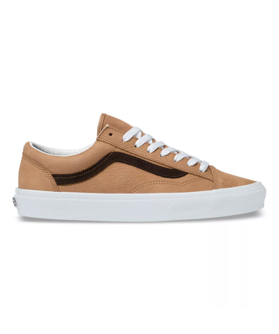 Vans OS Grain Leather Style 36 in Camel