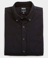 Japanese Selvedge Oxford Button Down Shirt in Black