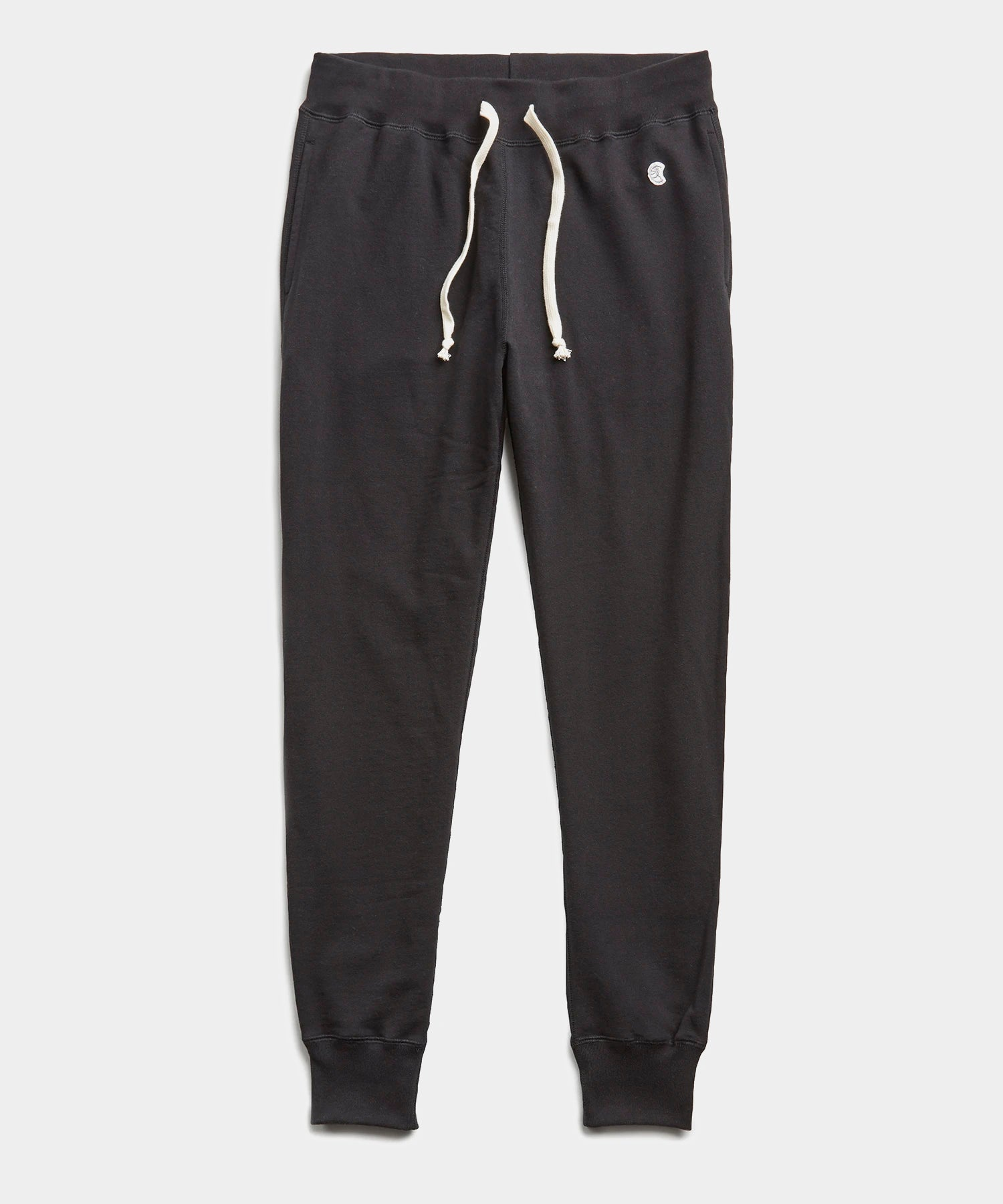 Lightweight Slim Jogger Sweatpant in Black