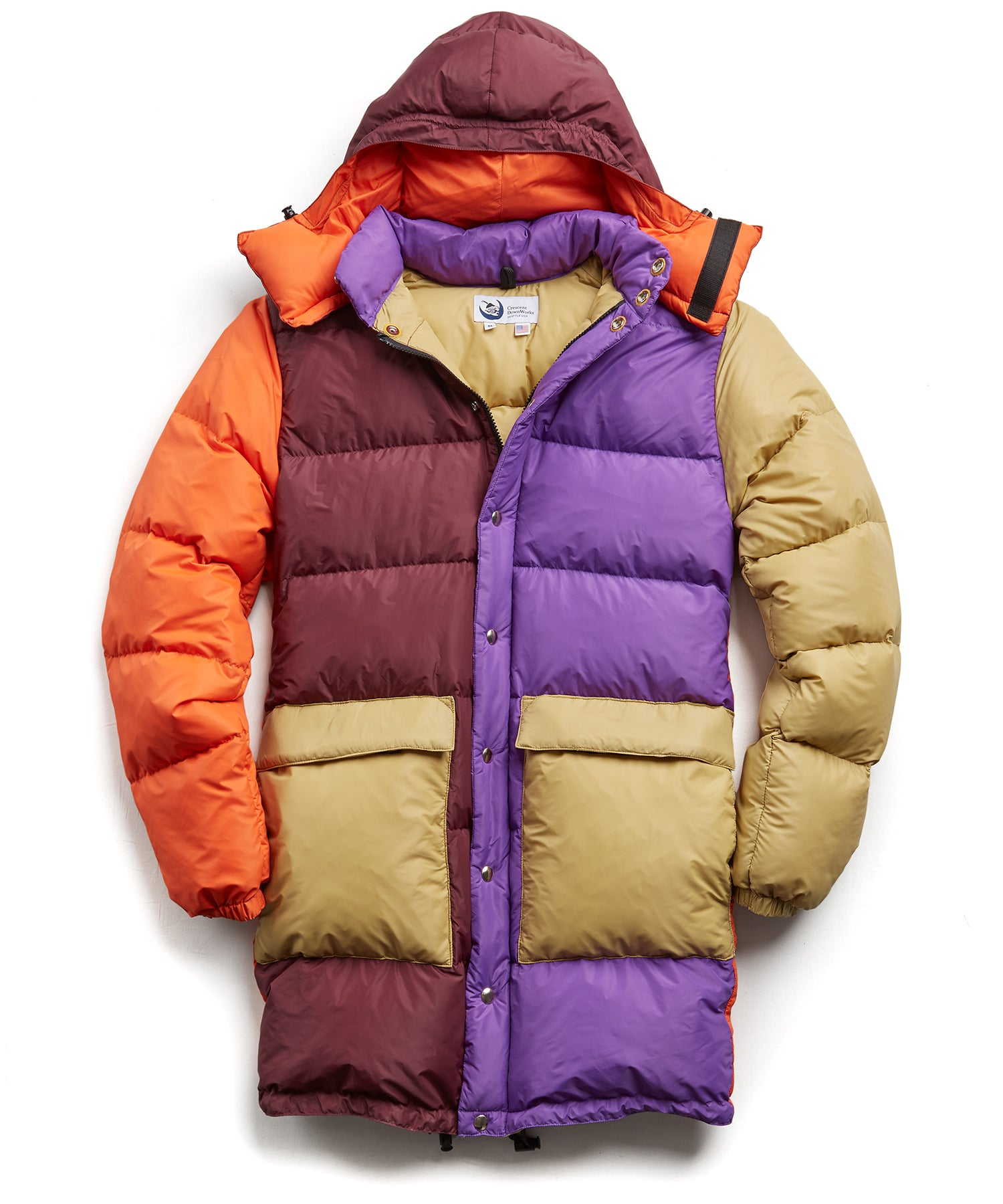 Exclusive Crescent Down + Todd Snyder Multi Color Parka