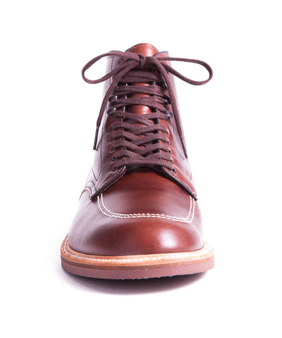 Alden Indy Boot in Brown Calfskin Leather