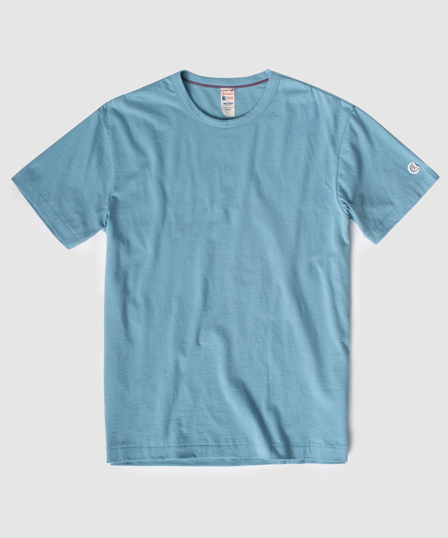 Champion Basic Jersey Tee in Bluestone