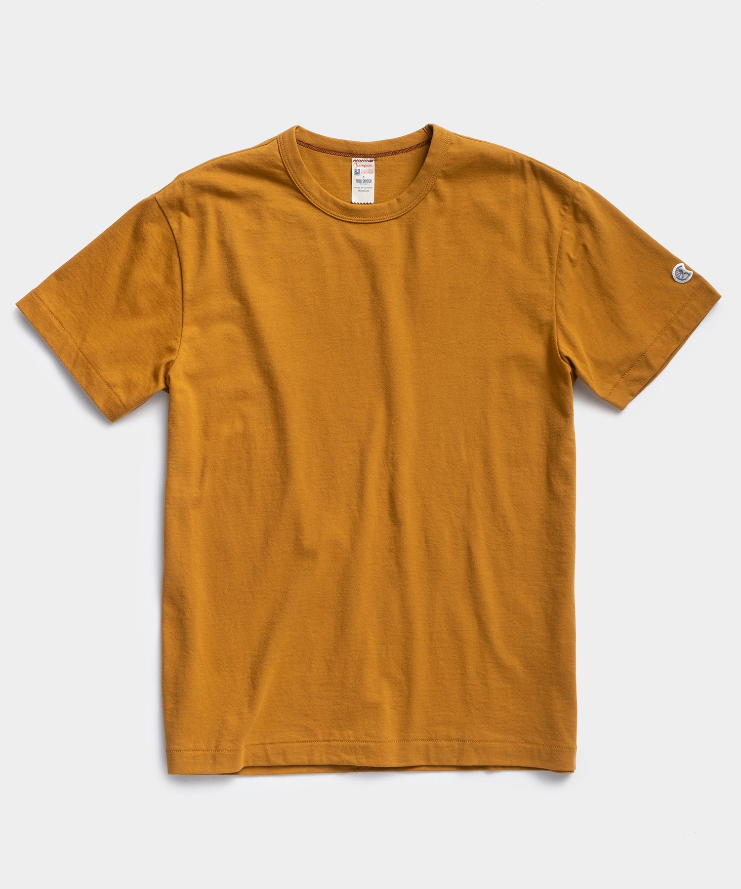Champion Basic Tee in Trophy Gold
