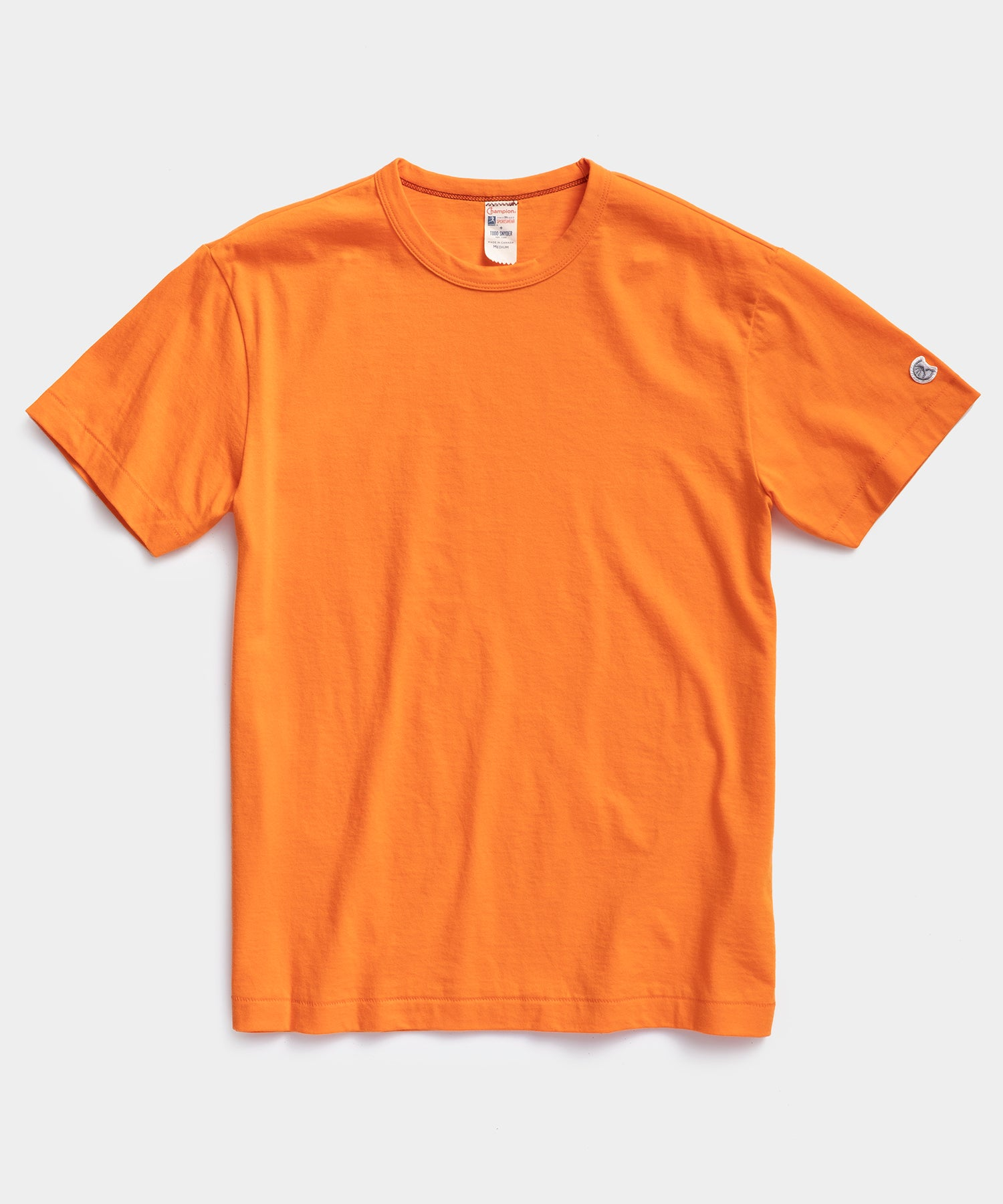 Champion Basic Tee in Signal Orange