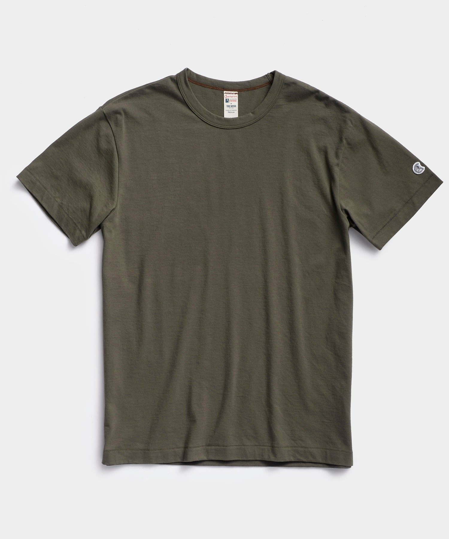 Champion Basic Tee in Olive Drab