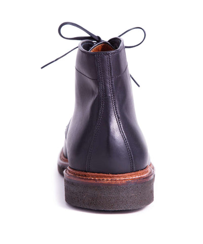 Alden Plain Toe Boot In Black