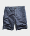 "9"" Cotton Linen Oxford Surplus Short in Storm"