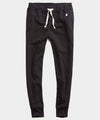 Heavyweight Slim Jogger Sweatpant in Black