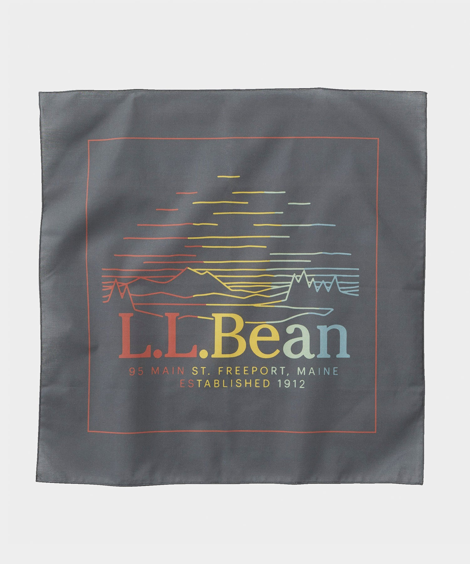 L.L.Bean Bandana in Grey