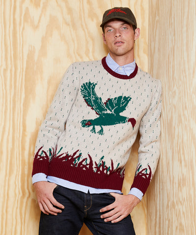 L.L.Bean x Todd Snyder Heritage Crewneck Sweater in Multi