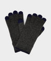 Dents Touchscreen Wool Gloves in Charcoal