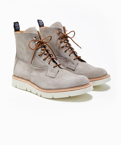 Todd Snyder x Tricker's Burford Boot in Shale Suede