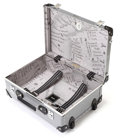 "Globe-Trotter X Todd Snyder 18"" Suitcase in Grey"