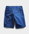 "9"" Cotton Linen Oxford Surplus Short in Blue"
