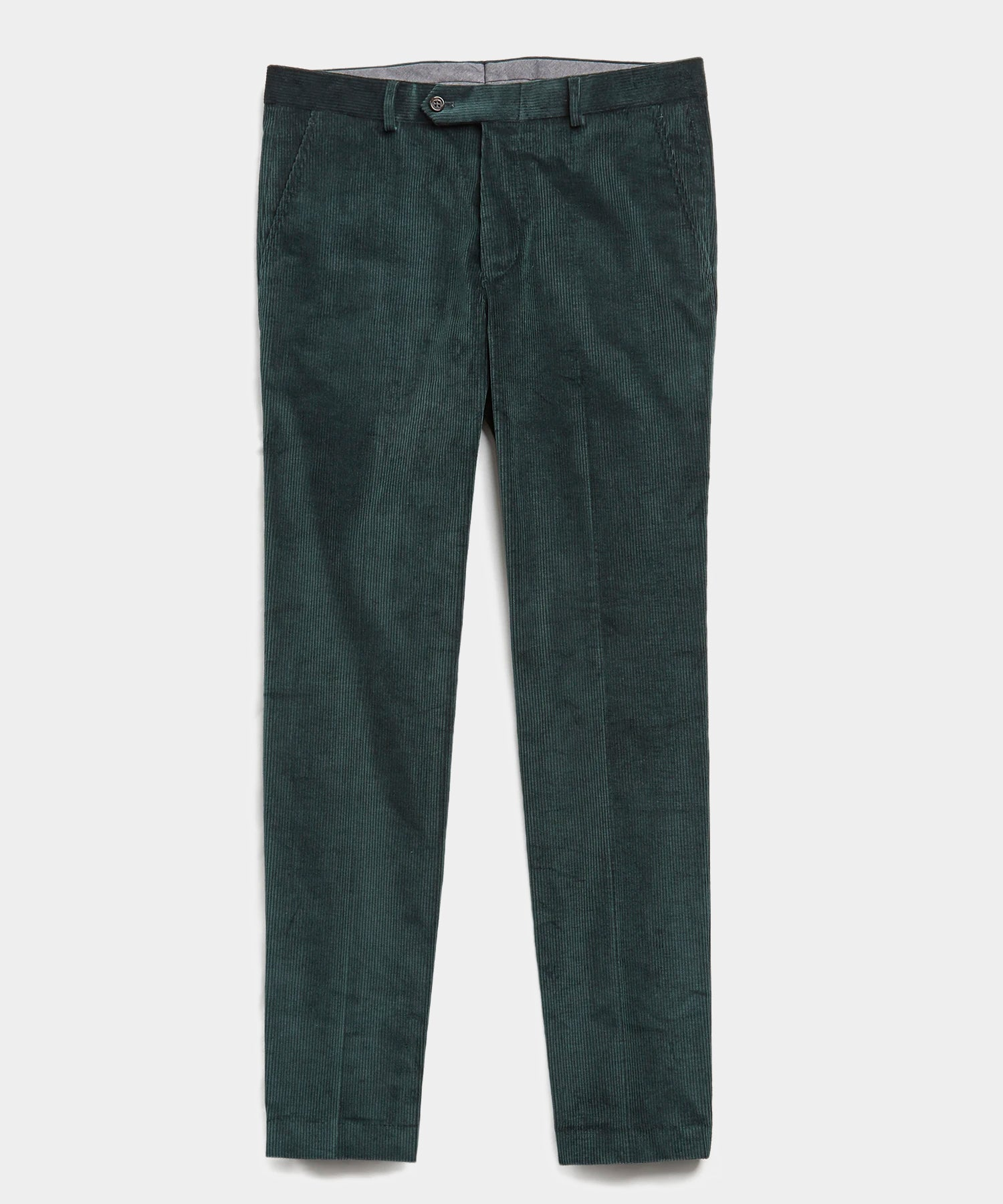 Sutton Corduroy Trouser in Emerald