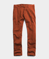 Slim Tab Front Stretch Chino in Chestnut