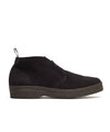 Sanders Chukka Boot in Black Suede