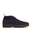 Sanders Chukka Boot in Navy Suede