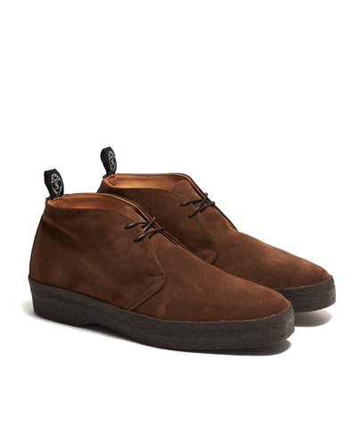 Sanders Suede Chukka Boot in Brown