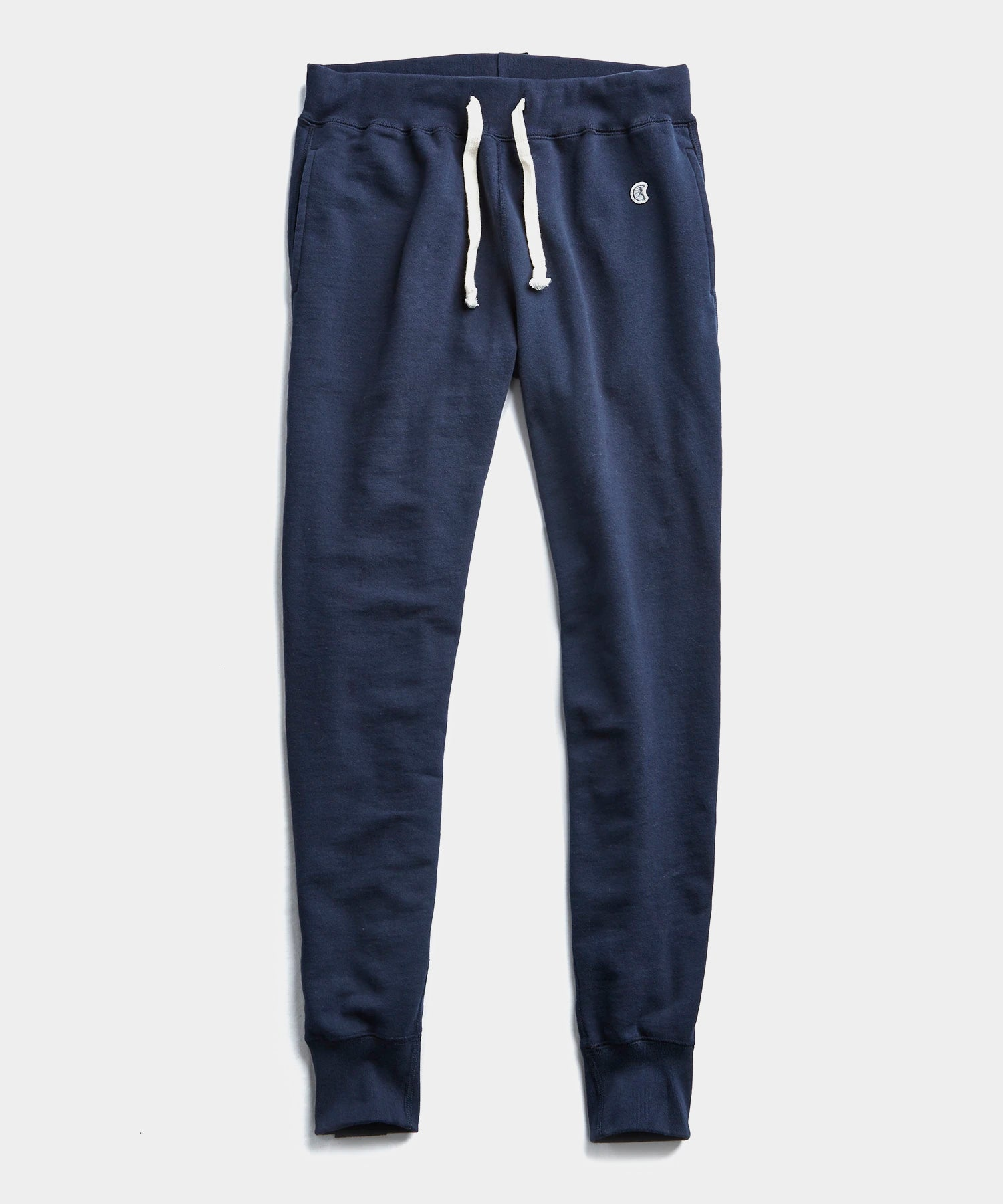 Heavyweight Slim Jogger Sweatpant in Navy