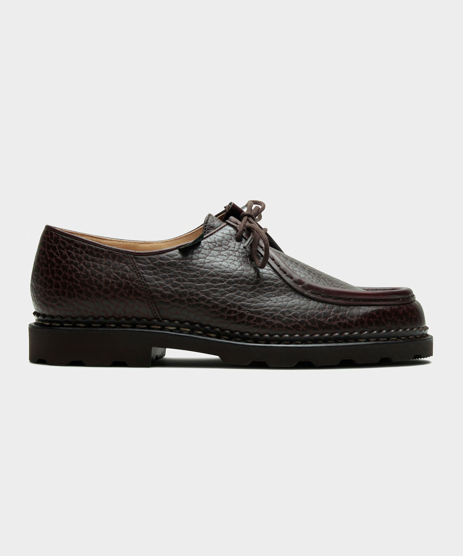 Paraboot Michael Bison Shoe in Brown