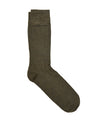 Corgi Solid Dress Socks in Forest Green