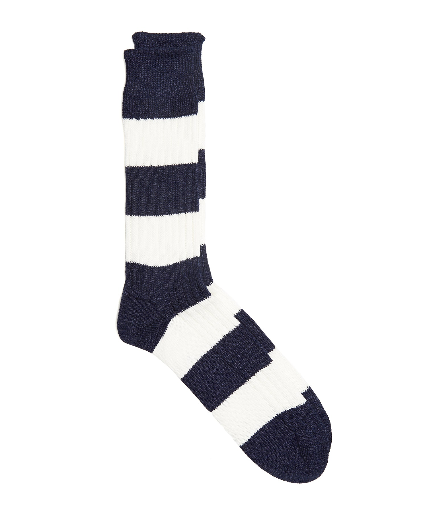 Corgi Rugby Sock in Midnight