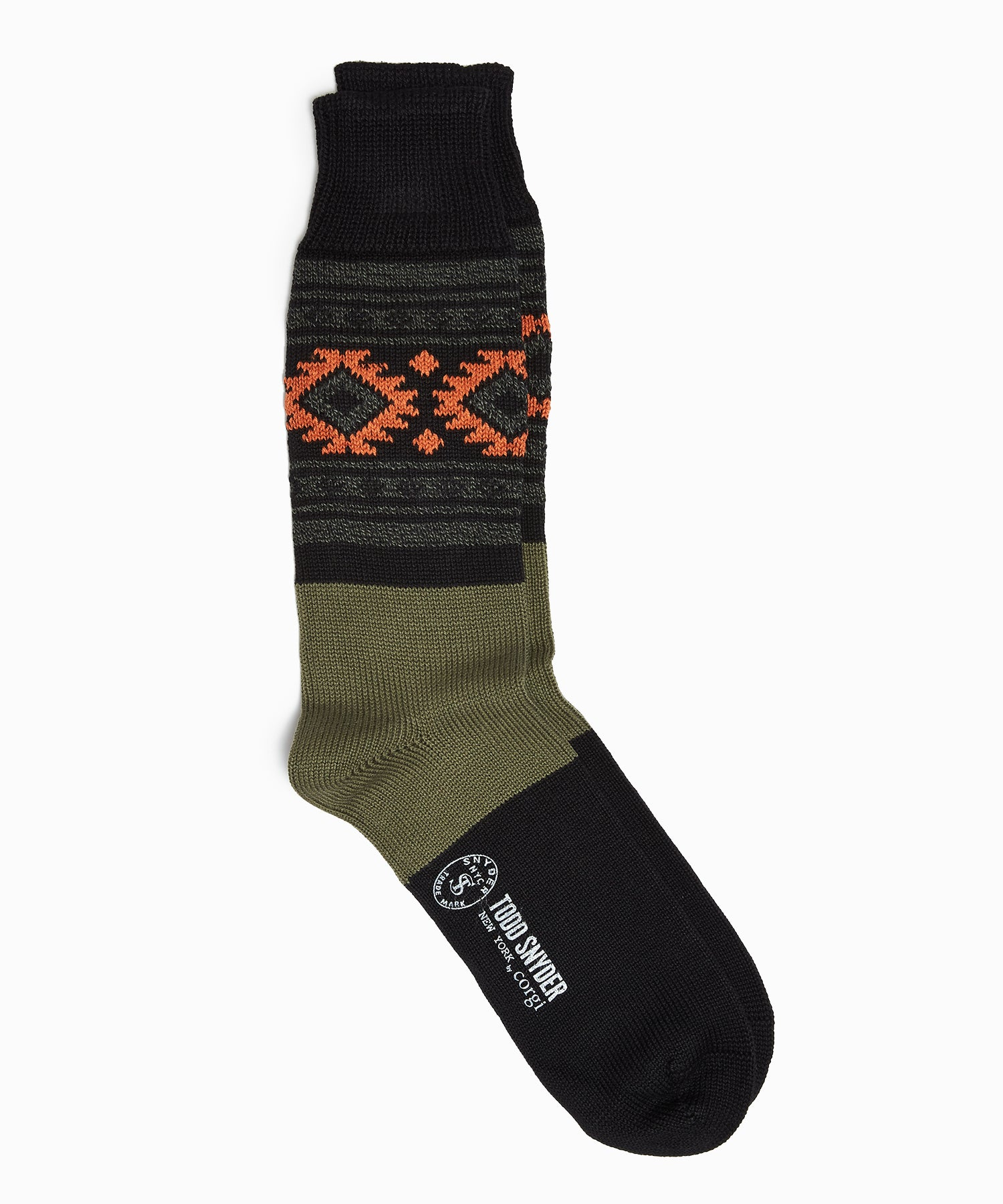 Corgi Aztec Pure Cotton Socks