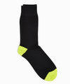 Corgi Contrast heel/toe socks in Black